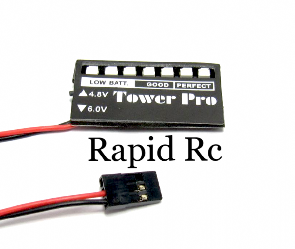 Receiver Battery Voltage Display nicad-minh